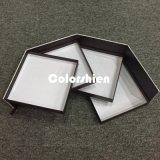 Boîte-cadeau de papier cosmétique stupéfiante d'étalage d'emballage de Transmutative
