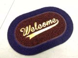 Venda Por Atacado Anti-Slip Entrada Residencial Welcome Foot Carpet Door Mats