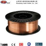 Er70s-6銅の上塗を施してある低炭素の鋼鉄溶接ワイヤ