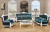 Sofá de couro luxuoso da sala de visitas moderna (UL-NSC093)
