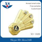 Qualitäts-Gold überzogenes kundenspezifisches Metallabzeichen