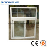 UPVC barato Windows y puertas, PVC Windows con la barra