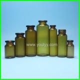 Bottiglie ambrate con il contagoccia