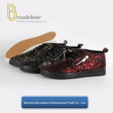 Modo e signora casuale Shoes con la tomaia Crack dell'unità di elaborazione dello Synthetic