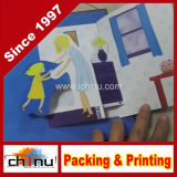 3D Pop Up Children Book Printing