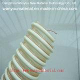 Mangueira reforçada flexível plástica da água do PVC do fio de aço da tubulação