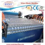 Chaîne de production ondulée glacée par PVC de toit