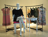 Système de sous-vêtements de dames avec la crémaillère de gondole, crémaillère d'étalage
