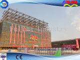 Edificio prefabricado de la estructura de acero de la alta subida para los proyectos (FLM-027)