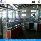 Linha reforçada fibra da extrusão da mangueira do PVC/linha produção da extrusora para a mangueira da pressão