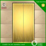 201 304 Spiegel Etched Gold Rose Gold Decorative Edelstahl Sheet für Elevator Doors und Cabins