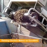 肉焼き器のケージのためのコンベヤーベルトの鶏のケージの肥料の取り外し機械
