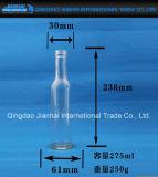 Frasco de vidro sem chumbo com Longo-Corpo para o vinho