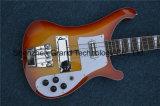Guitarra baixa de cordas do costume 4 de Rickenback (GB-52)