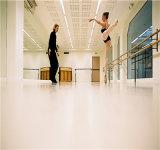 Настил PVC винила доказательства пожара для студии танцульки