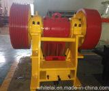 Задавливающ машину для рециркулировать, малая дробилка челюсти PE400X600 (PE1624)