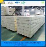 ISO, SGS одобрил панель сандвича цвета стальную PIR ~ 250mm 50mm для замораживателя холодной комнаты холодной комнаты