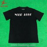 T-shirt à séchage rapide de noir de sublimation de Healong Digital