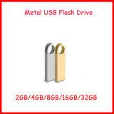 Palillo impermeable del USB del USB del mini del clave del USB del flash metal del mecanismo impulsor