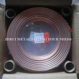 pipe de cuivre flexible de 6X0.6mm pour le gaz domestique