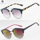 2017 óculos de sol plásticos de vinda novos com lente acrílica