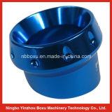 Bride en aluminium extérieure anodisée bleue