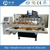 Машина маршрутизатора CNC Multi шпинделей деревянная с роторным приложением