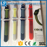 Weiche Silikon-Sport-Armband-Brücke für Apple-Uhr-Nike-Sport-Band 42mm