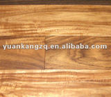 3 층 UV Lacquer Bruched Prefinished Oak Parquet Engineered Flooring
