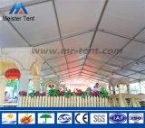 Tenda di mostra di cerimonia nuziale con impermeabile