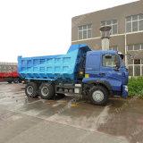 Sinotruk 371HP 6X4のダンプカートラックEuro2 18m3 LHD HOWO A7はダンプを追跡した