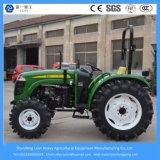 40/48/55HP 4 바퀴 드라이브 농업 장비 농장 또는 또는 소형 조밀한 경작하거나 정원 기계 트랙터