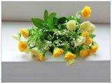 Flor artificial da decoração real por atacado da HOME do toque