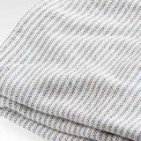 編まれたヘリンボン織り方の純粋な綿毛布