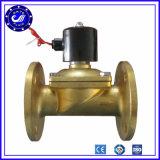 Valvola d'ottone elettrica registrabile dell'elettrovalvola a solenoide di CC dell'acqua 5V di flusso
