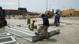 Installatie 3X18m 80ton in Kaap Verde