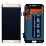 Tela de toque original LCD para o ouro branco azul da galáxia S6 G920 de Samsung