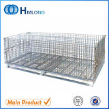 Steel Foldable Metal Rigid Wire Mesh Container