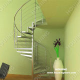 현대 실내 단철 나선형 계단/층계