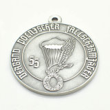リボンが付いている顧客デザインロゴの金属メダル
