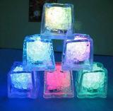 LEDの角氷を変更する水センサーのMulity一義的なカラー