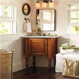 Vanité en bois de salle de bains de modèle antique avec le Module latéral