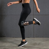 Guêtres courantes de séance d'entraînement de pantalon de yoga actif des collants des femmes actifs d'usure