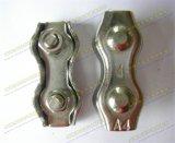 Clips duplex de câble métallique de matériel