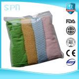 A fibra longa da embalagem maioria ostenta a toalha de limpeza do esporte de Microfiber