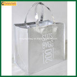 Customized Fashion Luxurious High Quality Metallic Siver Laminated Bags (TP-LB369)
