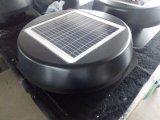15W 14inch incorporado Panel Solar Powered Ventilador de ventilación con motor sin escobillas (SN2013010)