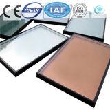 Galleggiante tinto/libero del bronzo/ha temperato il vetro riflettente per costruzione