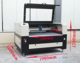 Mc-1310 Combo Laser Cutting Machine com Reci W6