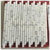 Het witte Chinese Marmeren Mozaïek van de Steen